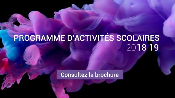 Programme d'activités scolaire 2018-19
